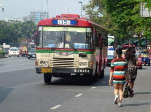 Bus in Bangkok