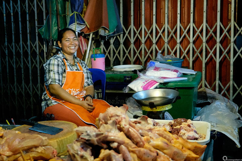 markt van Pak Chong