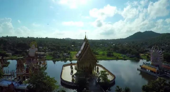 drone boven thailand