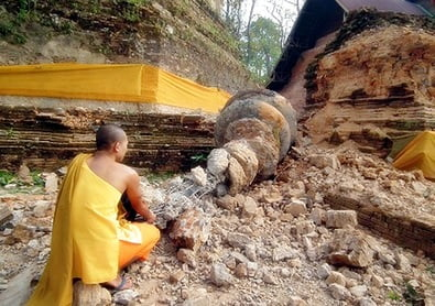 'Er komt een zware aardbeving in Thailand'