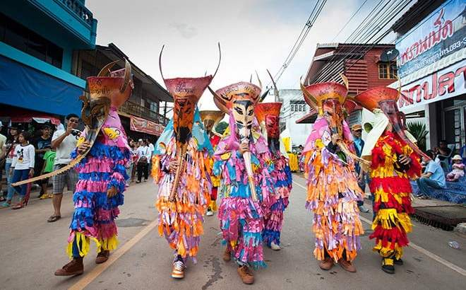 Phi Ta Khon festival 16 tot 18 juni