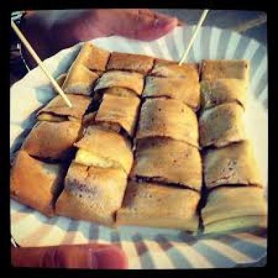Thaise strand-snacks