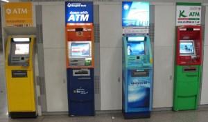 geld opnemen in thailand