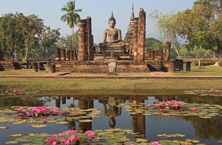 Sukhothai: stad vol met bezienswaardigheden