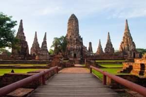 het oude ayutthaya