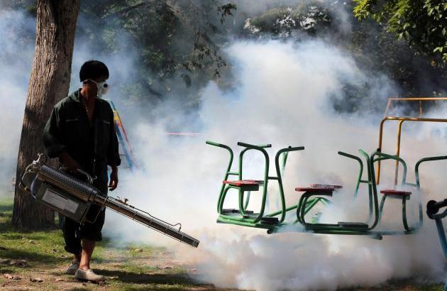 Dengue-epidemie in Thailand