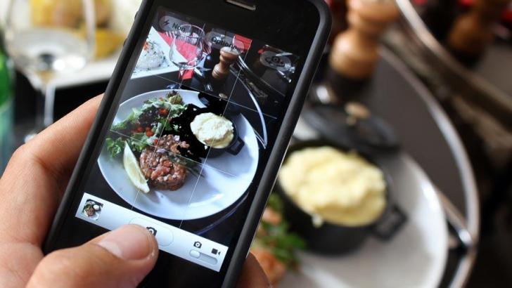 Gebruik Instagram voor eten in Thailand