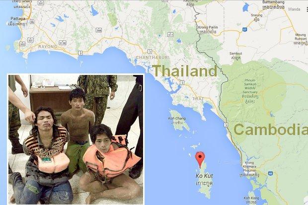 gevaarlijk op Thaise eilanden