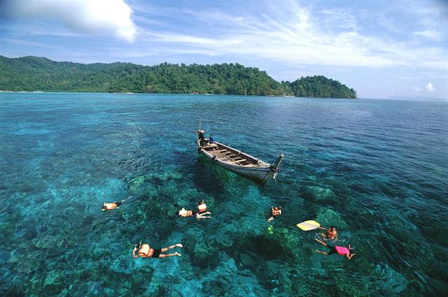 Vijf meest onderschatte stranden van Thailand