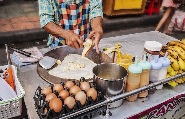 Culinair genieten op straat in Thailand