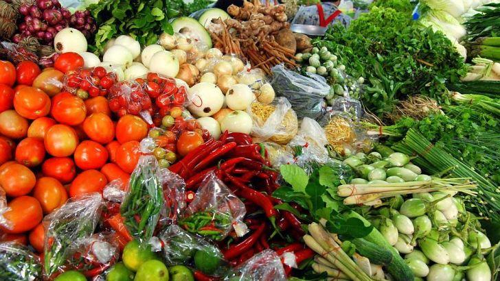 Groenten op de Thaise markt gekocht? Goed wassen!