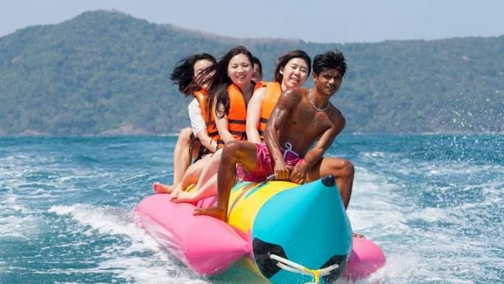 Party-eiland Koh Samet wordt voor ecotoeristen