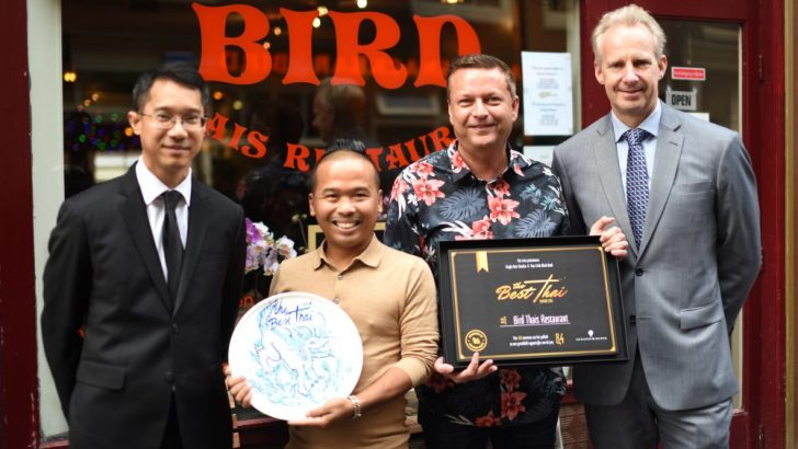 Bird Thais restaurant winnaar van The Best Thai Award