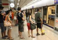 Langer stappen in Bangkok