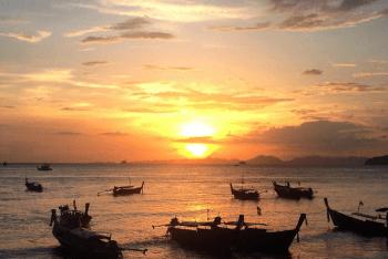 zonsondergang-krabi