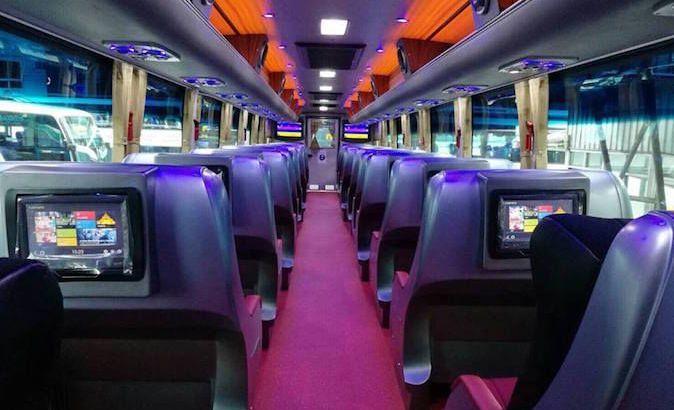 Met de luxe bus naar Chiang Mai