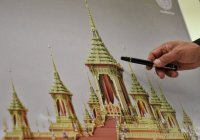 Thaise koning krijgt een groots crematorium