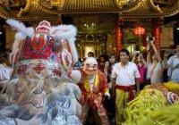 Chinees nieuwjaar in Chinatown