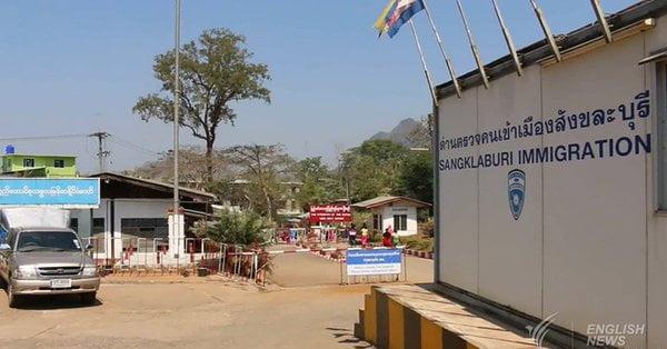 Toeristen weggehouden bij Thaise grens met Myanmar