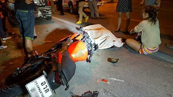 Per jaar ruim 5.000 motorbikedoden in Thailand