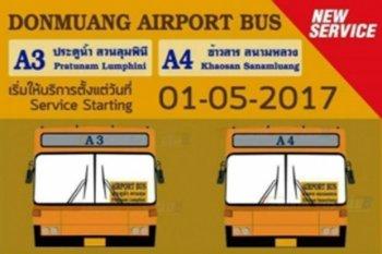 don mueang shuttlebussen