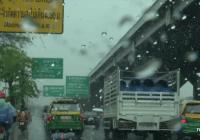 regenseizoen in Thailand