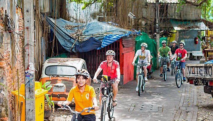 Fietsen door Bangkok met Go Bangkok Tours