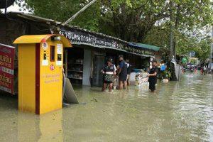 Al vier dagen regen op Koh Lipe