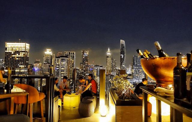 Minder bekende rooftop bars in Bangkok
