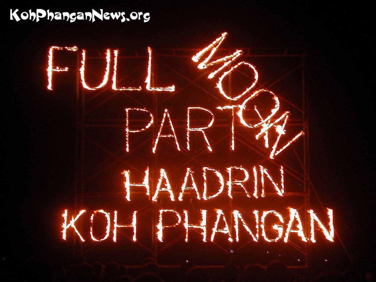 Full Moon Party voor Oktober afgelast