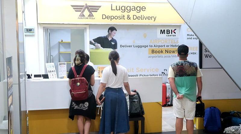 Gratis je koffers stallen in Bangkok
