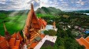 Bezoek brengen aan Wat Tham Sua in Kanchanaburi