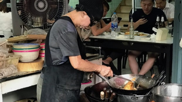 Michelin ster voor streetfood in Bangkok