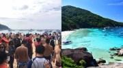 Similan Eilanden raken overspoeld door toeristen