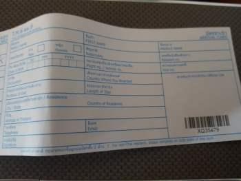 nieuwe thaise immigratiekaart