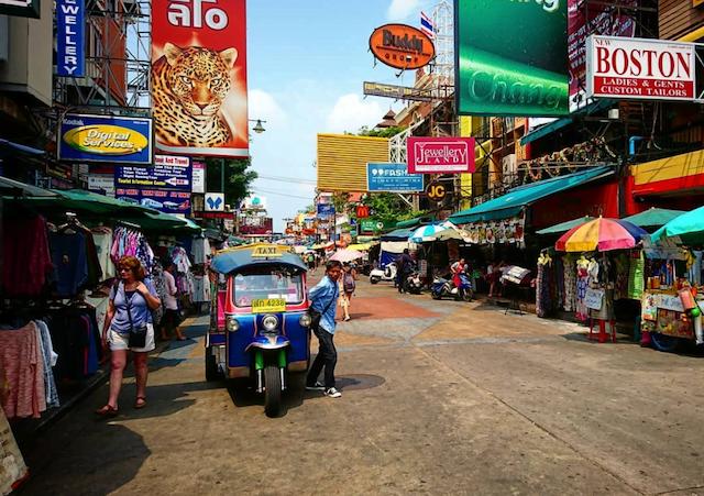 waar moet je in bangkok verblijven