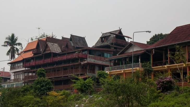 Ondergewaardeerd Chiang Khong, de moeite waard