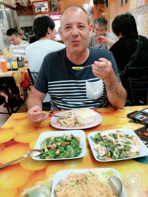 redelijke prijs eten in Bangkok