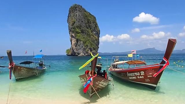 Mooie vakantievideo van Thailand