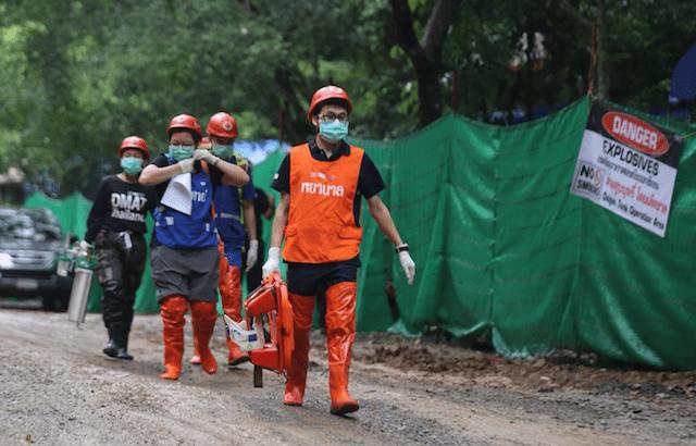 Reddingsactie Thaise grot vandaag: 8 jongens bevrijd