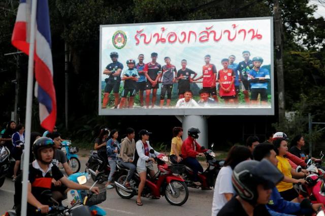 Thaise reddingsactie is geslaagd