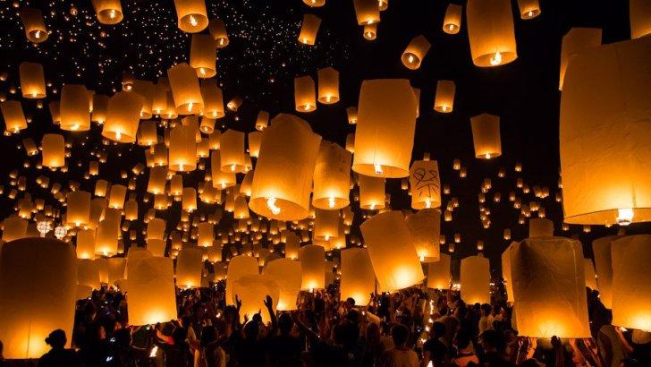 Vluchten Chiang Mai geschrapt vanwege Yi Peng