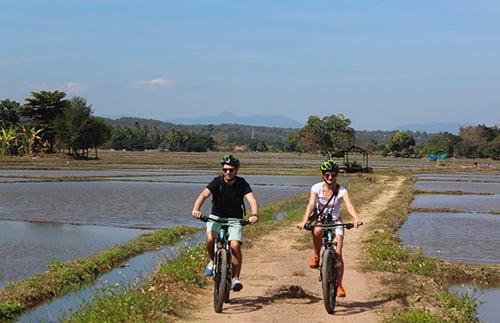 Per fiets van Chiang Mai naar Chiang Rai