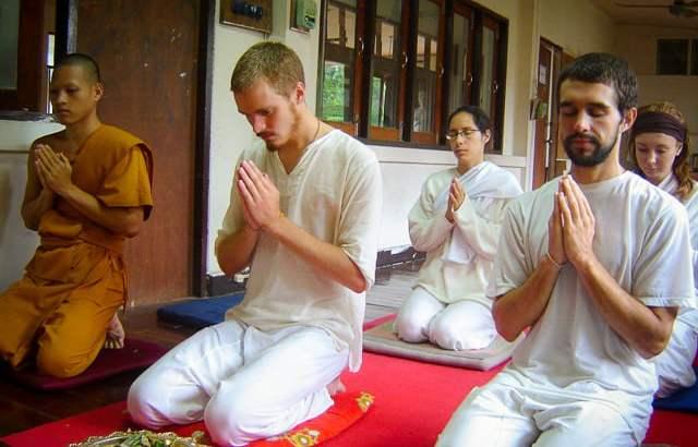 Leren mediteren in Thailand