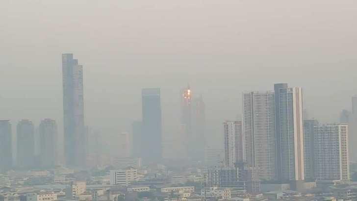 Luchtvervuiling in Bangkok wordt steeds erger