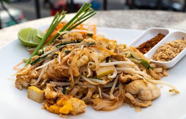 Oorsprong van Pad Thai