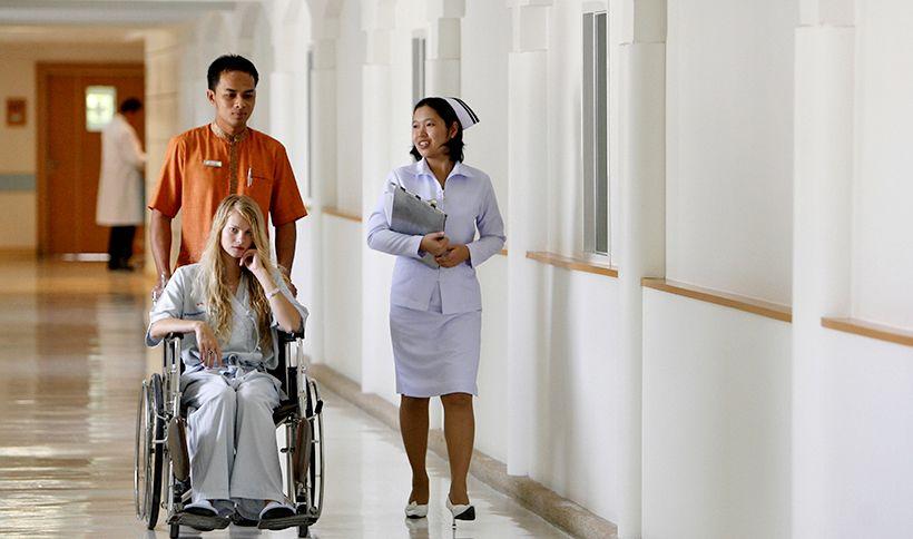 Thaise commerciële ziekenhuizen