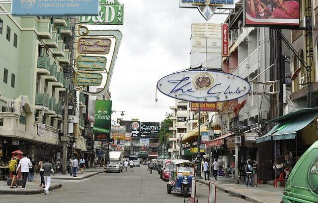 Nemen chinezen Khao San Road over?