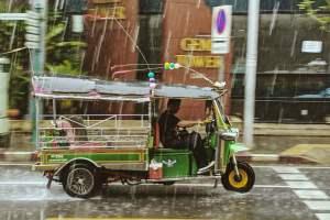 regen in Thailand