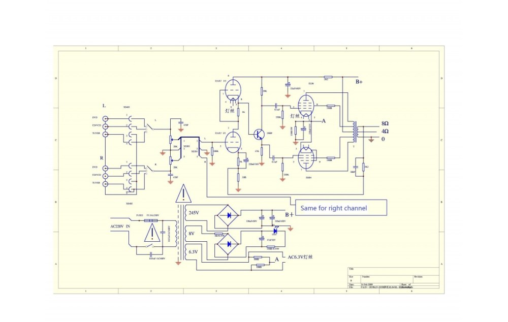medium resolution of pignose amp wiring diagram circuit maker